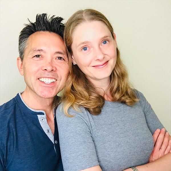 Sarah and George Choy